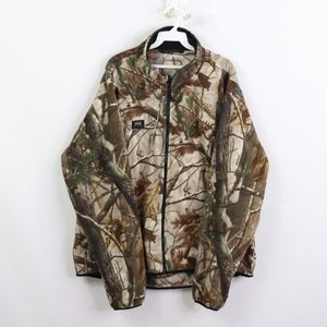 Helly Hansen Mens 2XL Camo Hunting Fleece Jacket